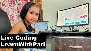 WhiteHat Jr Coding Live Demo in Hindi by Pari   Live Game Designing