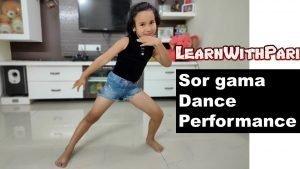 Sor gama dance performance