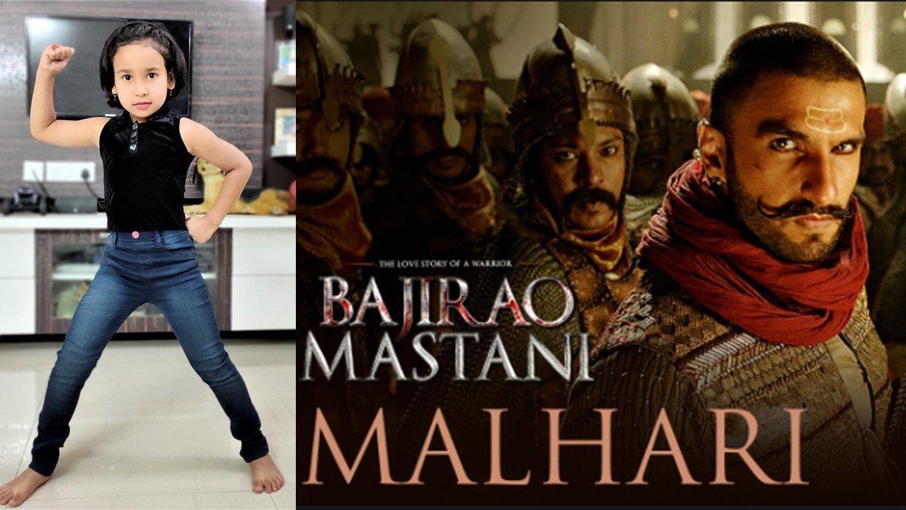 Malhari solo dance performance by Pari