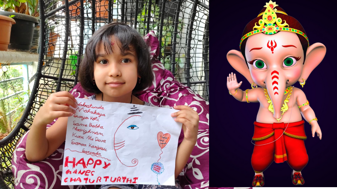 Read more about the article Happy Ganesh Chaturthi Status Message From Pari