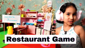 Restaurant Game for kids in Hindi