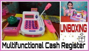 Cash Register Pretend to Play Unboxing / Shop Keeper Game Accessories