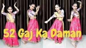 52 gaj ka daman dance step | 52 gaj ka dance