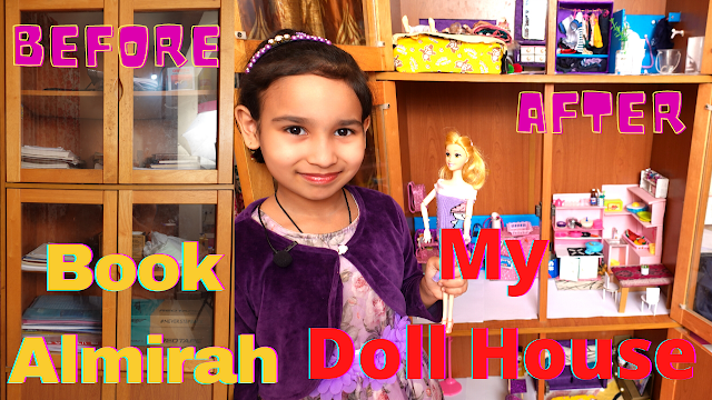 How I convert my Book Almira to Doll House