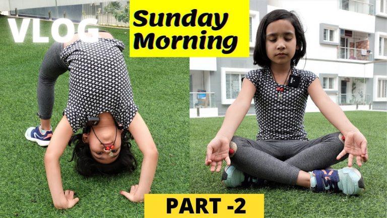 Sunday Morning Vlog part-2