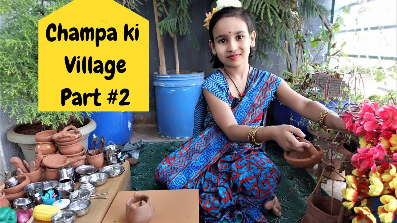 Read more about the article Cooking game in Hindi Part-23 | Champa ki Village |Clay Pot Cooking | Mud Pot Cooking