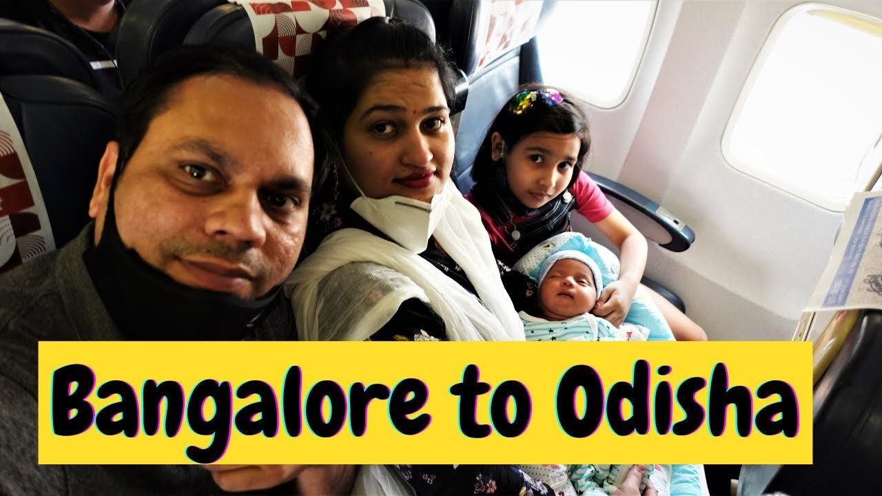 Bangalore to Odisha Vlog