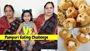 Panipuri Eating Challenge