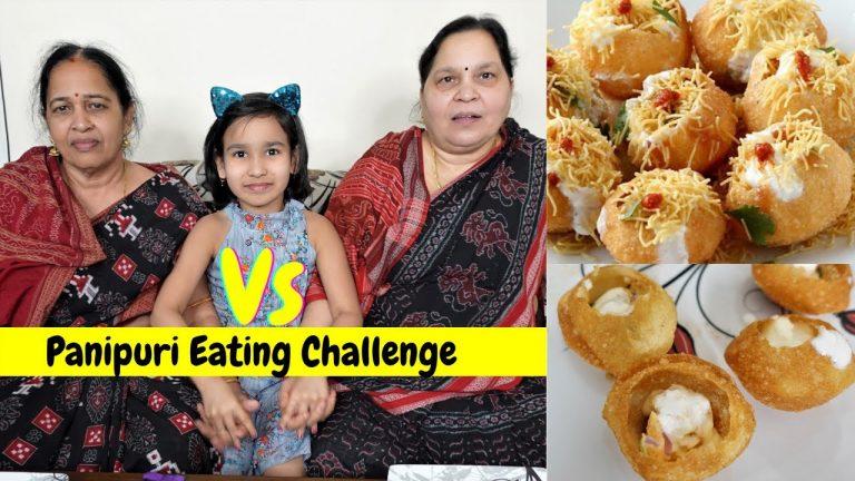 Panipuri Eating Challenge