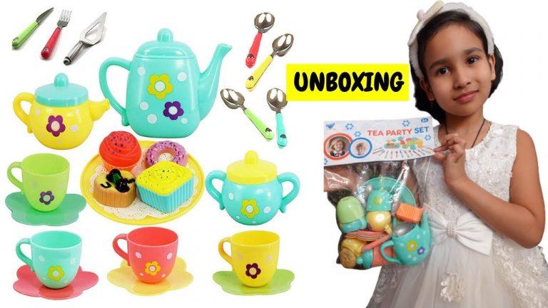 Tea Party Set Unboxing/ Cooking Set unboxing