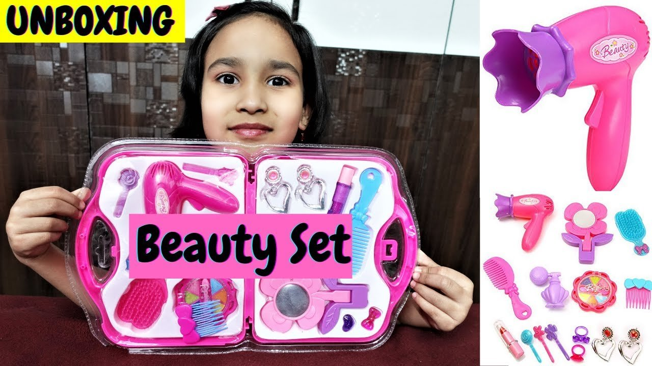 Read more about the article Webby Beauty Set for Girls unboxing Video