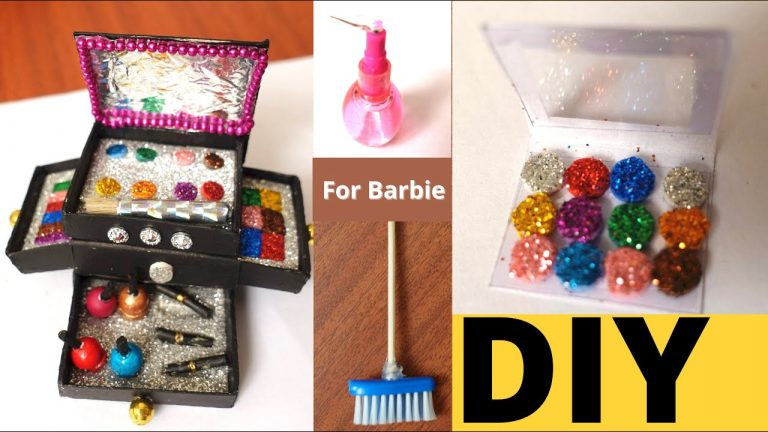 Home made Barbie Doll Accessories