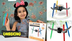 Read more about the article 3 in 1 doodling Kit Unboxing / Fun science kit