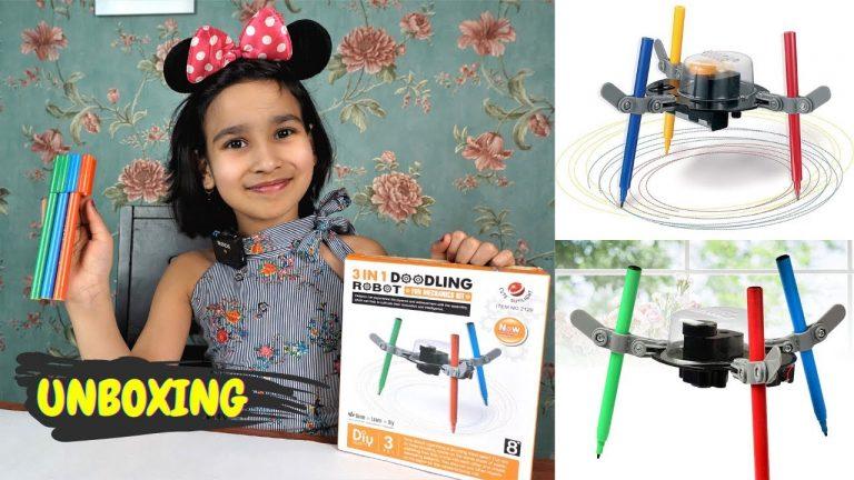 3 in 1 doodling Kit Unboxing / Fun science kit