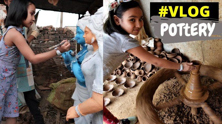 Clay pottery making Vlog/ Village vlog