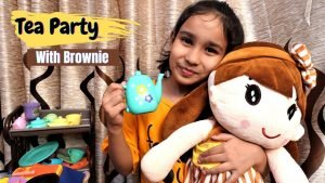 Tea party with Browny