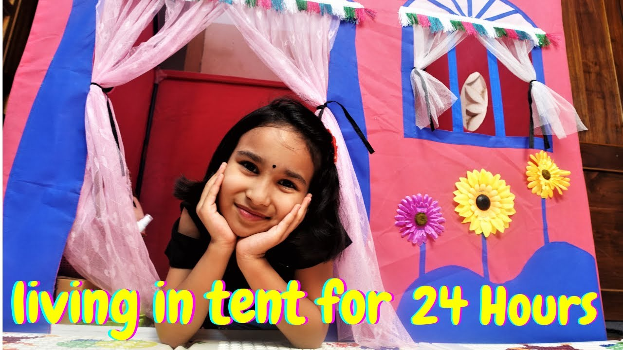 Living in Tent for 24 Hours