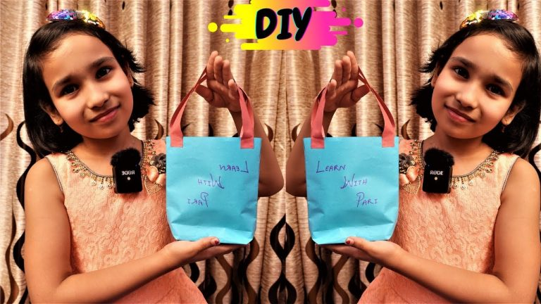 DIY Paper Bag/ Making Paper Bag