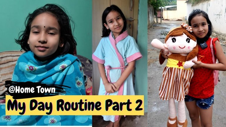 Day routine part-2 at home town