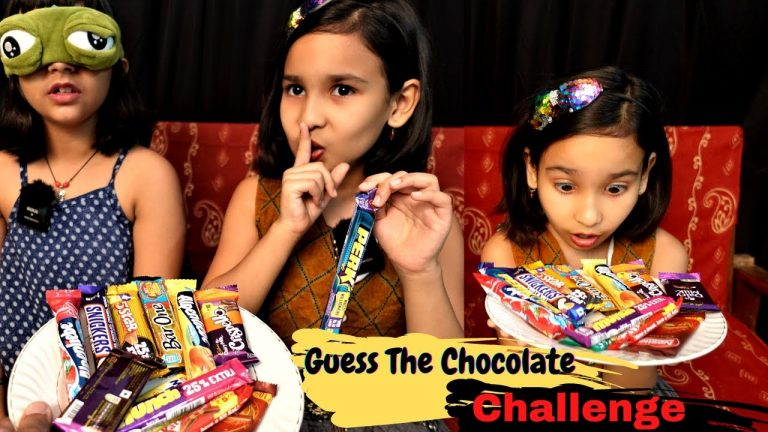 Guess the chocolate challenge