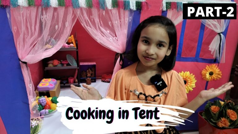 Cooking Game in Tent